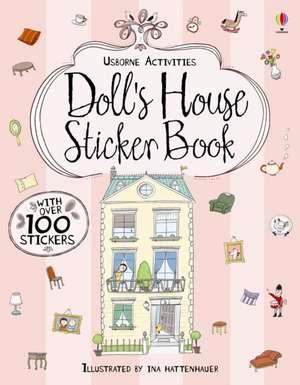 Doll's House Sticker Book imagine