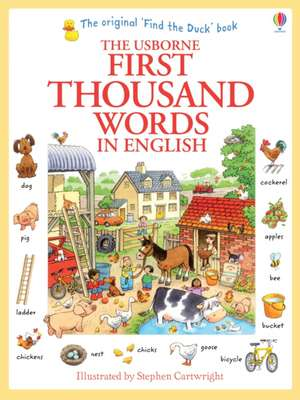 First Thousand Words in English de Heather Amery