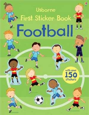 First Sticker Book Football