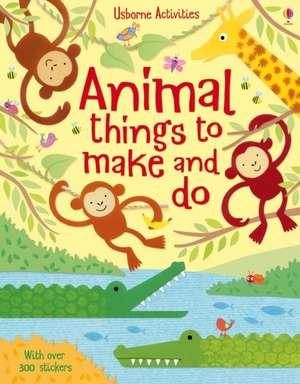 Animal Things to Make and Do imagine