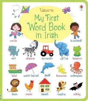 My First Word Book in Irish imagine