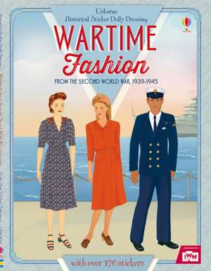 Sticker Dolly Dressing Historical Wartime Fashion