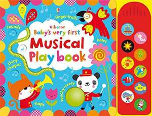 Baby's Very First Musical Play Book de Fiona Watts