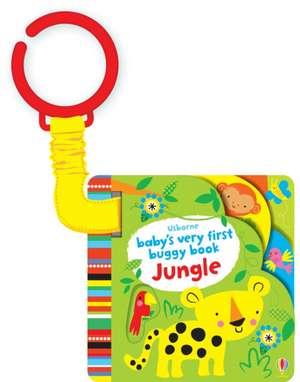 Baby's Very First Buggy Book Jungle de Fiona Watt