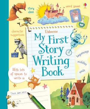 My First Story Writing Book de Katie Daynes
