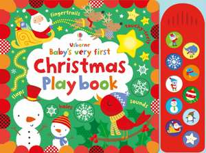 Baby's Very First Touchy-Feely Christmas Play book de Fiona Watt