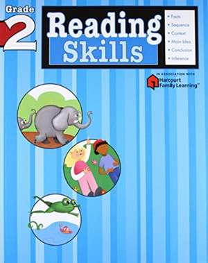 Reading Skills:  Grade 2 (Flash Kids Harcourt Family Learning) de Flash Kids Editors