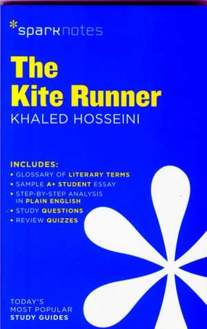 The Kite Runner:  1865-Present Sparkcharts de Sparknotes