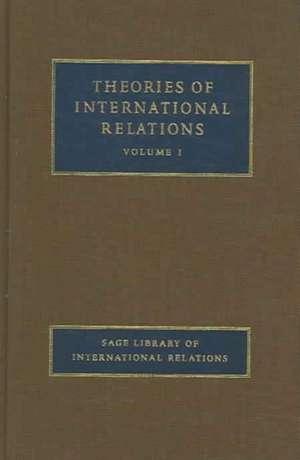 Theories of International Relations de Stephen Stephen Chan