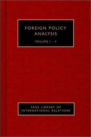 Foreign Policy Analysis de Walter Carlsnaes