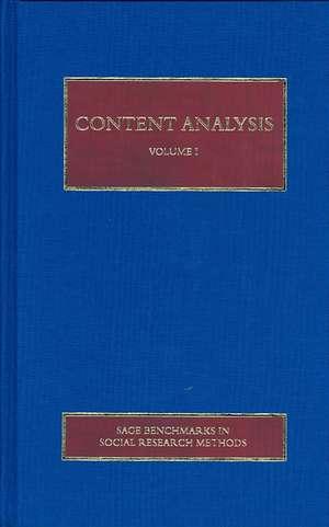 Content Analysis de Roberto Franzosi