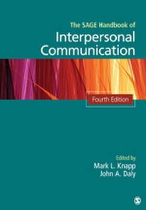 The SAGE Handbook of Interpersonal Communication imagine
