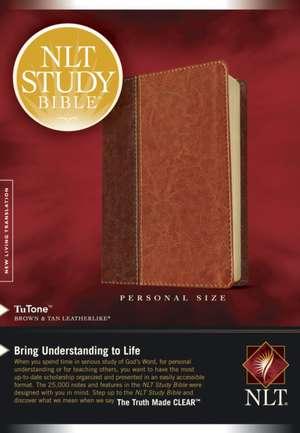 Study Bible-NLT-Personal Size de Tyndale House Publishers
