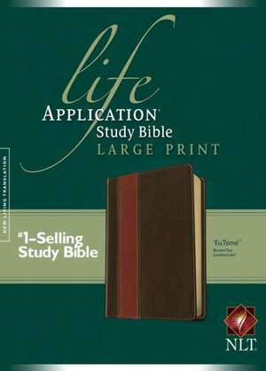 Life Application Study Bible-NLT-Large Print imagine