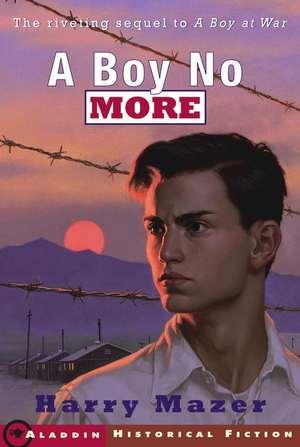 A Boy No More de Harry Mazer