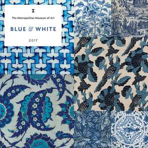 Blue and White 2017 Wall Calendar de Metropolitan Museum of Art the
