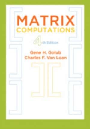 Matrix Computations 4th Edition imagine
