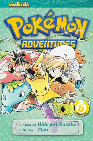 Pokémon Adventures (Red and Blue), Vol. 6 de Hidenori Kusaka