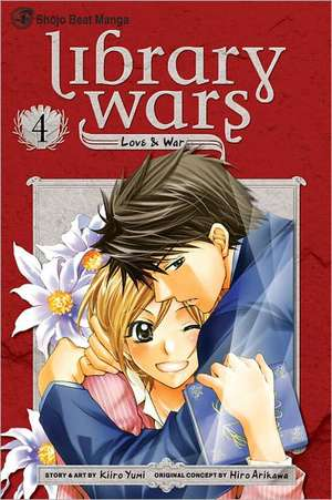LIBRARY WARS LOVE & WAR GN VOL 04 de Diamond Comic Distributors, Inc.
