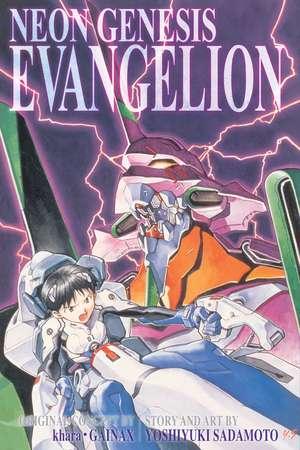 Neon Genesis Evangelion 3-in-1 Edition, Vol. 1: Includes vols. 1, 2 & 3 de Yoshiyuki Sadamoto