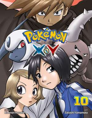 Pokemon X•Y, Vol. 10