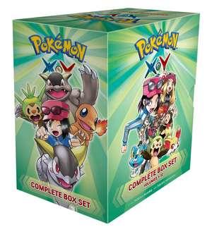 Pokémon X•Y Complete Box Set: Includes vols. 1-12 de Hidenori Kusaka