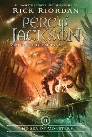 The Sea of Monsters: Percy Jackson and the Olympians vol 2 de Rick Riordan