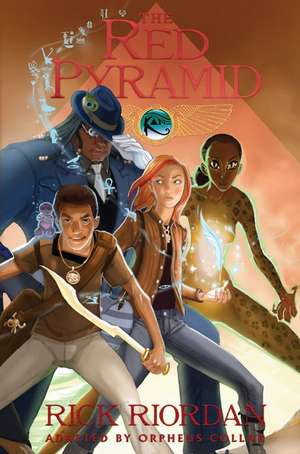 The Kane Chronicles, Book One The Red Pyramid: The Graphic Novel de Rick Riordan