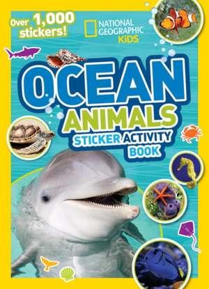 Ocean Animals Sticker Activity Book