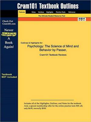 Studyguide for Psychology de 2nd Edition Passer and Smith