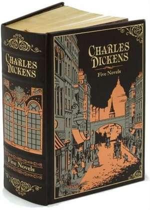 Charles Dickens (Barnes & Noble Omnibus Leatherbound Classic: Letherbound. Ediţie de colecţie de Charles Dickens