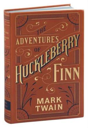 Adventures of Huckleberry Finn (Barnes & Noble Flexibound Classics) de Mark Twain