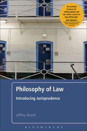 Philosophy of Law de Jeffrey Brand