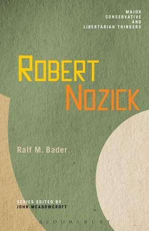 Robert Nozick de Ralf M. Bader