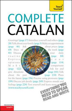 Complete Catalan Beginner to Intermediate Course de Anna Poch
