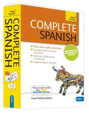 Complete Spanish, Beginner to Intermediate Course [With Paperback Book]:  Sbas de Juan Kattan-Ibarra