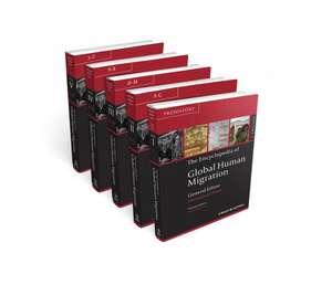 The Encyclopedia of Global Human Migration, 5 Volume Set