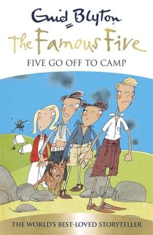 Famous Five: Five Go Off To Camp de Enid Blyton