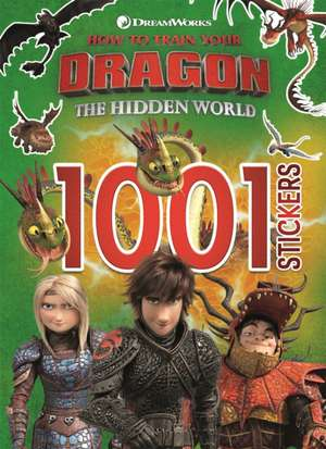 How to Train Your Dragon The Hidden World: 1001 Stickers de DreamWorks Animation