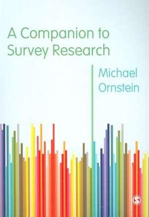 A Companion to Survey Research imagine