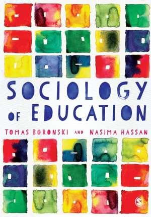 Sociology of Education de Tomas Boronski