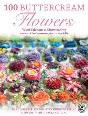 100 Buttercream Flowers de Valerie Valeriano