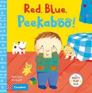 Red, Blue, Peekaboo! imagine