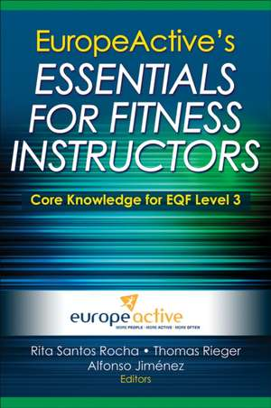 Europeactive's Essentials for Fitness Instructors