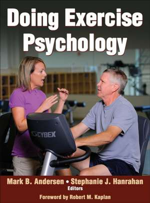 Doing Exercise Psychology de Mark B. Andersen