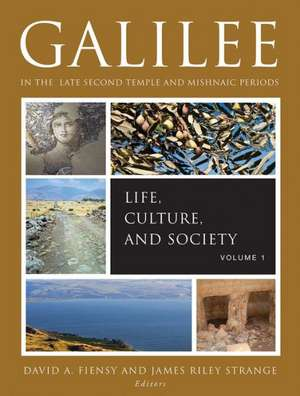 Galilee in the Late Second Temple and Mishnaic Periods, Volume 1:  Life, Culture, and Society de David a. Fiensy