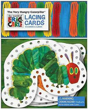 The Very Hungry Caterpillar Lacing Cards [With 10 Laces]