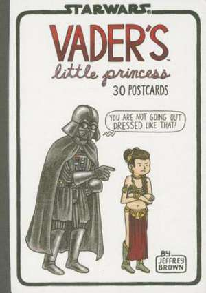 Vader's Little Princess 30 Postcards de Jeffrey Brown