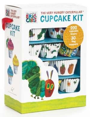 Set de cupcakes/ briose The Very Hungry Caterpillar / Omida mancacioasa