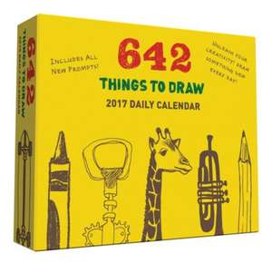 642 Things to Draw 2017 Daily Calendar de Chronicle Books